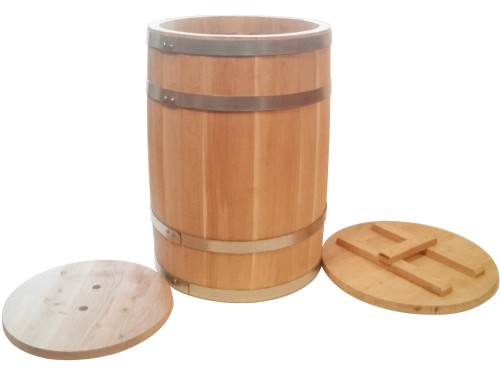 Бочка дубовая 100 литров для засолки солений