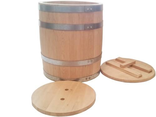 Бочка дубовая 50 литров для засолки солений