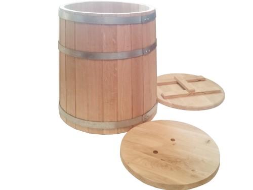 Кадка дубовая 100 литров для засолки солений