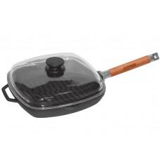 Сковорода гриль 26х26 см