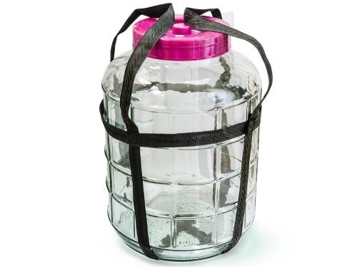 Банка стеклянная 26 литров с гидрозатвором