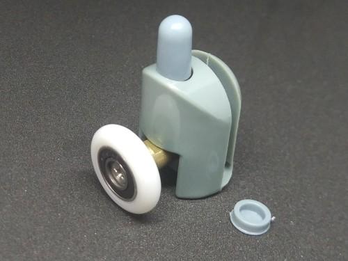 Ролик нижний с кнопкой для душевой кабины
